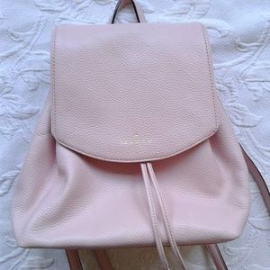 Kate Spade Mini Backpack Pink Leather Small Breezy